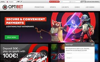 Screenshot 2 Optibet Casino