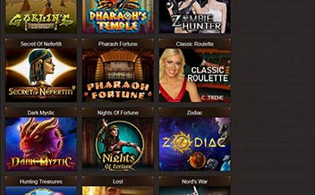 Screenshot 1 Osiris Casino