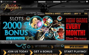 Screenshot 3 Pamper Casino