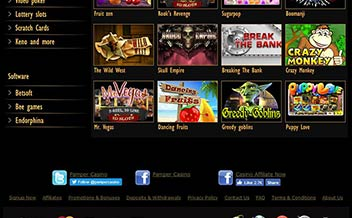 Screenshot 1 Pamper Casino