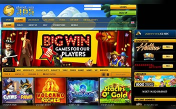 Screenshot 3 PlanetWin365 Casino