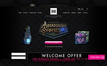 Screenshot 1 PlayGrand Casino