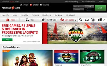 Screenshot 4 PokerStars Casino