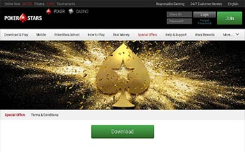 Screenshot 2 PokerStars Casino