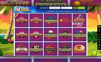 Screenshot 2 Power Spins Casino