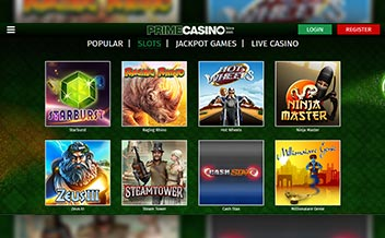 Screenshot 3 Prime Casino
