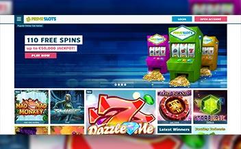 Screenshot 1 Prime Slots Casino