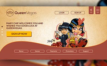 Screenshot 2 QueenVegas Casino