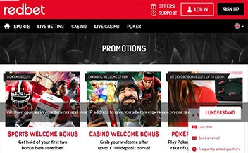 Screenshot 3 Redbet Casino