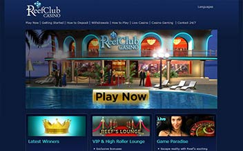 Screenshot 1 Reef Club Casino