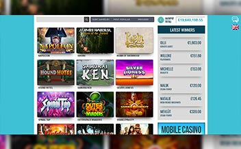 Screenshot 1 Reel Island Casino