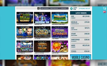 Screenshot 2 Reel Island Casino