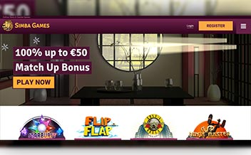 Screenshot 1 Simba Games Casino