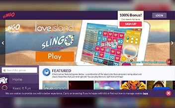 Screenshot 1 Slingo Casino