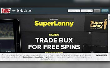 Screenshot 2 SuperLenny Casino