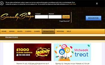 Screenshot 4 Swanky Bingo Casino