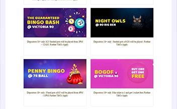 Screenshot 2 Swanky Bingo Casino
