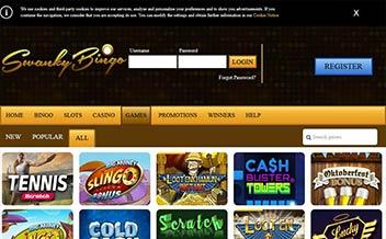Screenshot 3 Swanky Bingo Casino