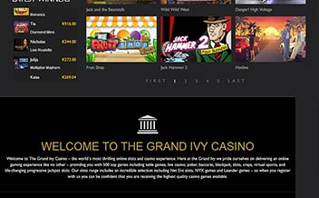 Screenshot 1 The Grand Ivy Casino