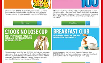 Screenshot 2 The Sun Bingo Casino
