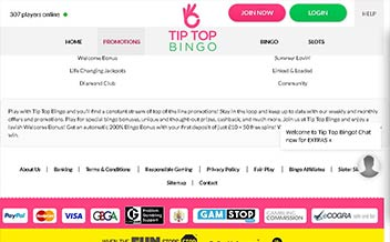 Screenshot 3 Tip Top Bingo Casino