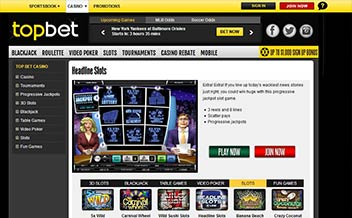 Screenshot 4 Topbet Casino