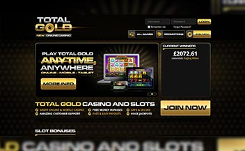 Screenshot 1 Total Gold Casino