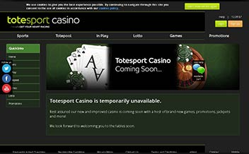 Screenshot 3 Totesport Casino