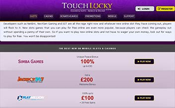 Screenshot 3 Touch Lucky Casino