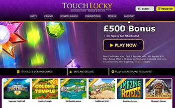 Screenshot 1 Touch Lucky Casino