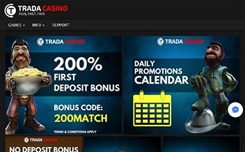 Screenshot 4 Trada Casino