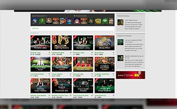 Screenshot 1 Unibet Casino