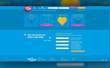 Screenshot 1 Vera John Casino