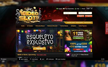 Screenshot 2 Videoslots Casino