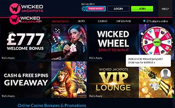 Screenshot 4 Wicked Jackpots Casino