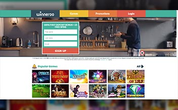 Screenshot 3 Winneroo Casino