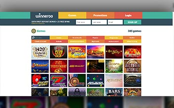 Screenshot 4 Winneroo Casino