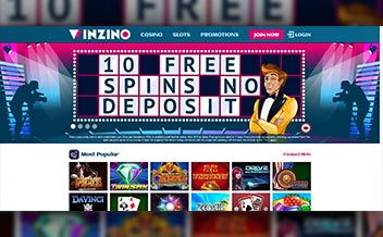 Screenshot 1 Winzino Casino