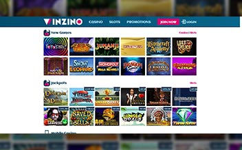 Screenshot 3 Winzino Casino