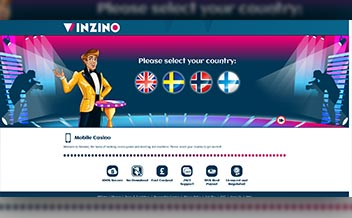 Screenshot 2 Winzino Casino