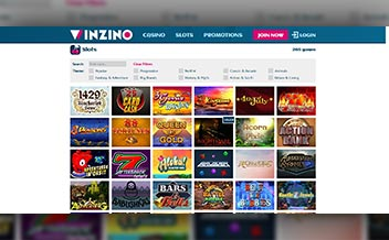 Screenshot 4 Winzino Casino