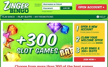 Screenshot 4 Zinger Bingo Casino