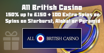 150% and 100 Extra Spins Welcome Bonus