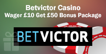 £50 Bonus Package for a £10 Wager