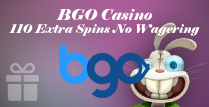 110 Extra Spins without Wagering Requirements