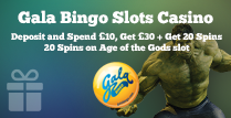 Wager £10 and Get £30 + 20 Spins