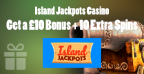 £10 Bonus and 10 Extra Spins