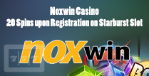 20 Spins upon Registration For players Courtesy of Noxwin Casino Online