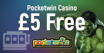 Get £5 bonus for free Courtesy Of Pocketwin Casino Online