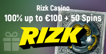 100% Deposit Match of up to €100 Plus 50 Spins